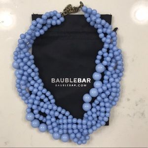 BaubleBar Light Blue Beaded Necklace